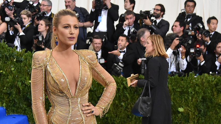 Blake Lively bei der Costume Institute Gala