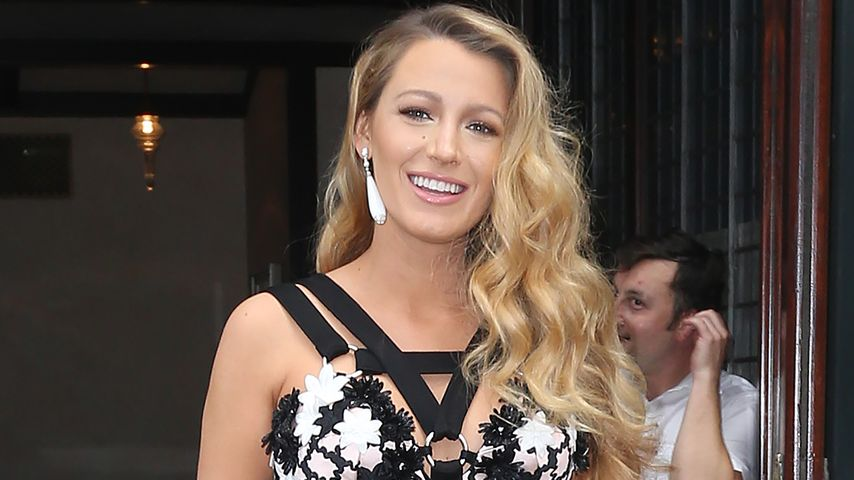 Blake Lively vor ihrem Hotel in New York