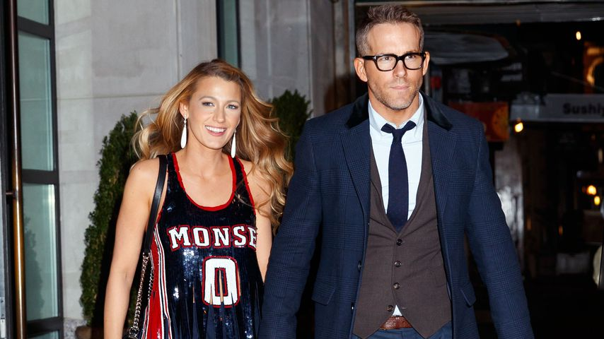 Blake Lively und Ryan Reynolds in New York