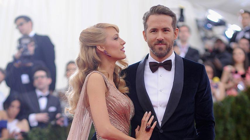 Blake Lively und Ryan Reynolds bei der Met-Gala 2014