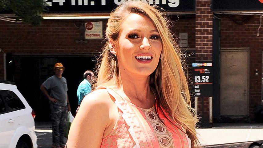 Blake Lively während ihrer zweiten Schwangerschaft in New York