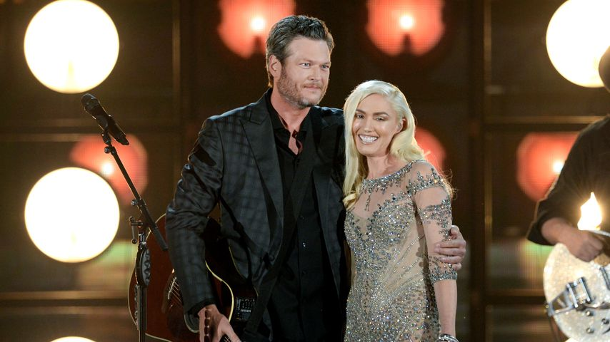 Blake Shelton und Gwen Stefani bei den Billboard Music Awards 2016