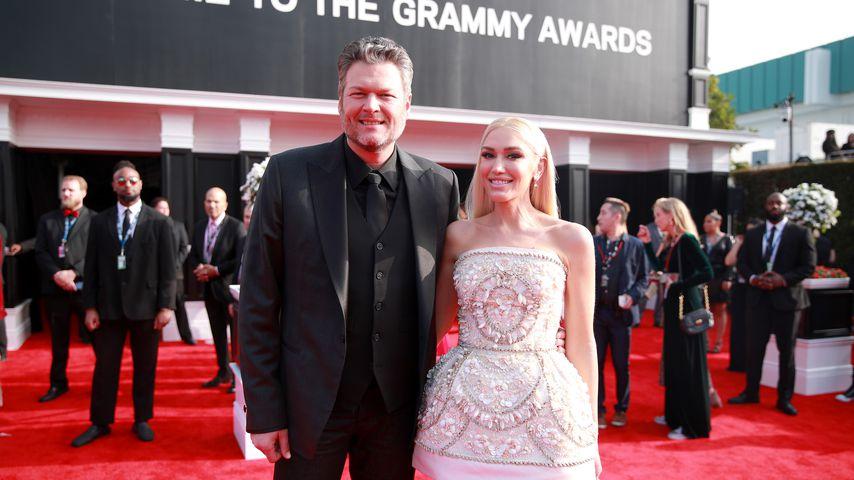 Blake Shelton und Gwen Stefani bei den Grammy Awards 2020