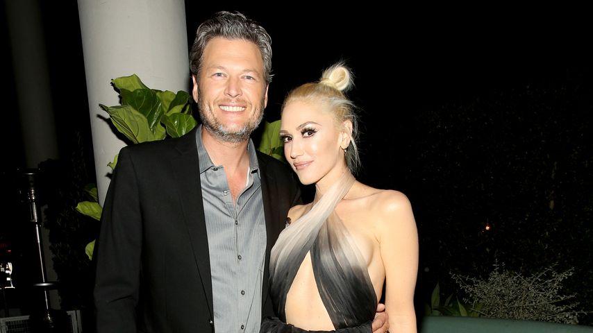 """Blake Shelton und Gwen Stefani bei der """"Glamour Women of the Year 2016""""-Dinner-Party"""