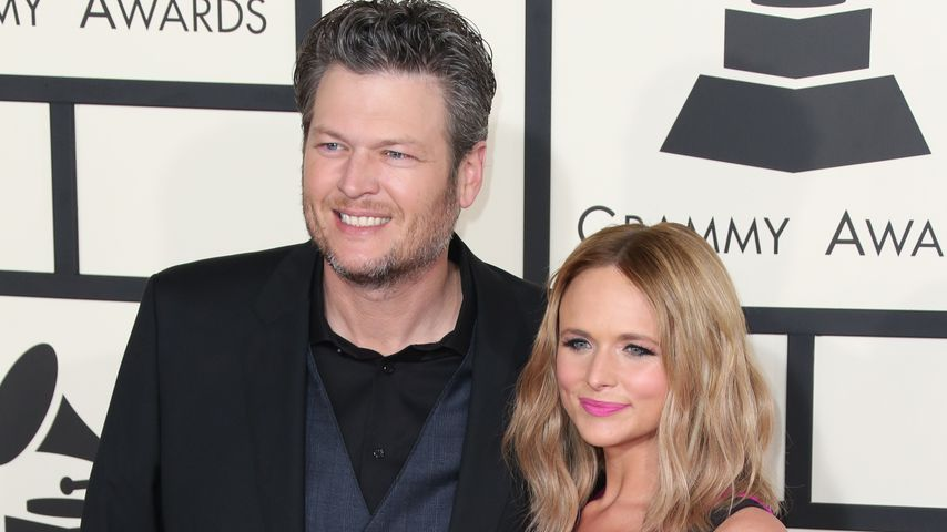 Blake Shelton und Miranda Lambert bei den GRAMMY Awards 2015