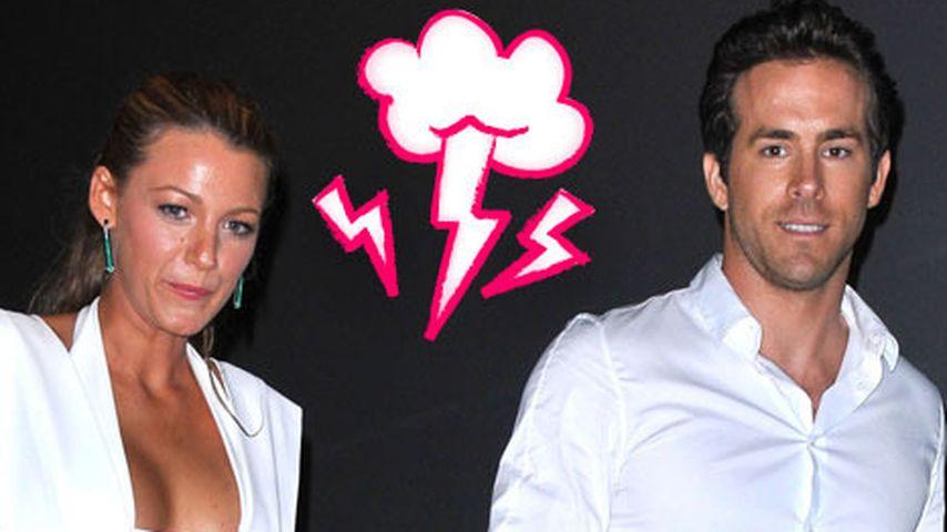 Erste Ehe-Probleme bei Blake Lively & ihrem Ryan