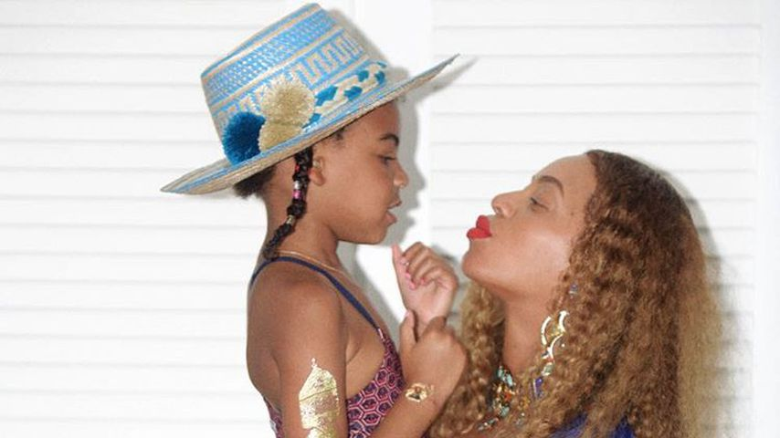 Blue Ivy und Beyoncé