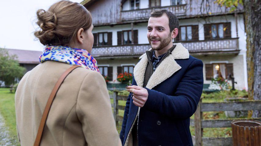 """Melli (Bojana Golenac) und Wanja (Eugen Knecht) in """"Sturm der Liebe"""""""