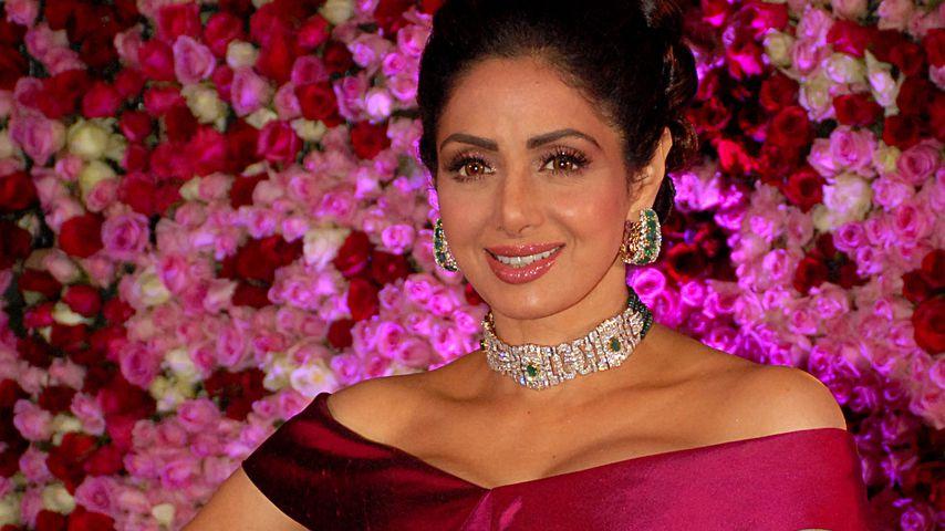 Bollywood-Bekanntheit Sridevi