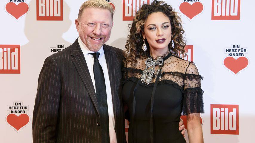 Boris und Lilly Becker bei einer Gala in Berlin