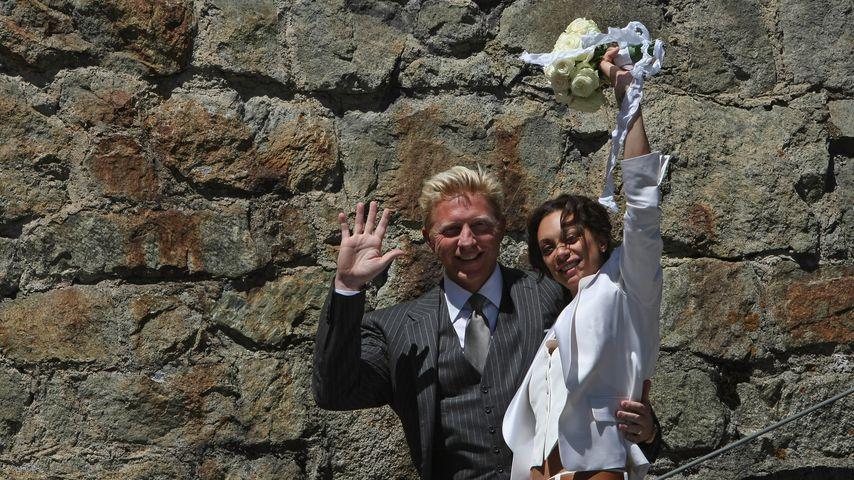 Boris Becker und Lilly Becker bei ihrer Hochzeit
