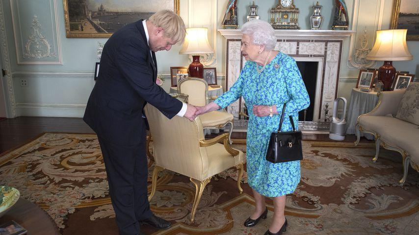 Boris Johnson und Queen Elizabeth II. im Juli 2019