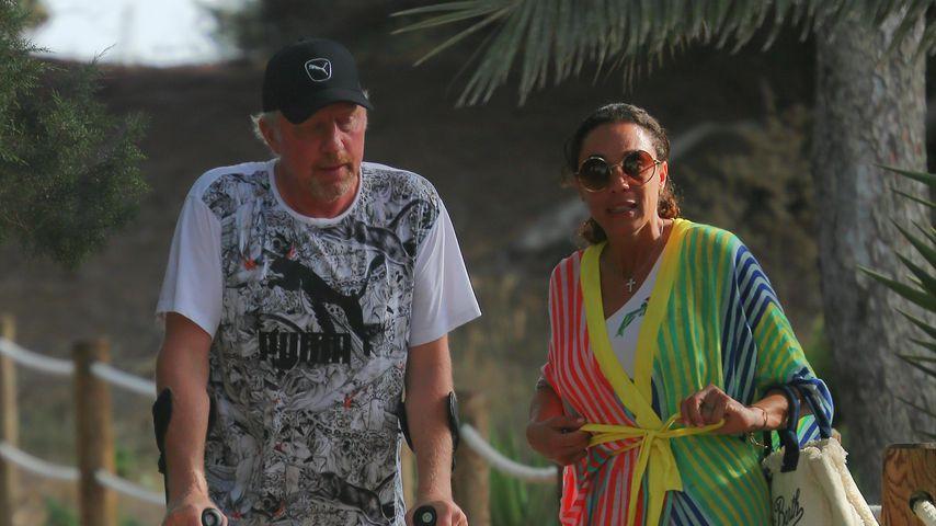 Boris & Lilly Becker: Neue Bilder nach seiner Fuß-Operation