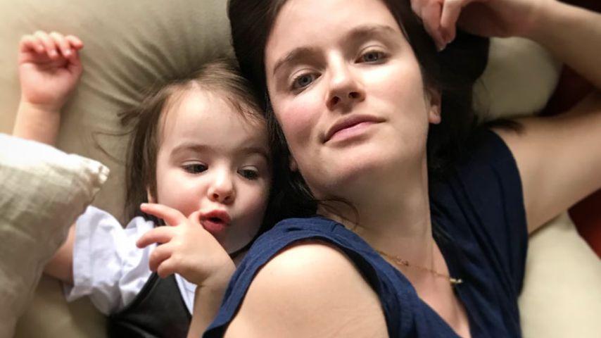 Bowie und ihre Mama Anna Wood im Mai 2020