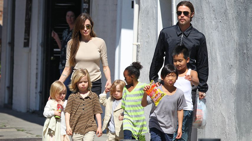 Home of Fun: Brad Pitt will Kids zurück nach Hause locken