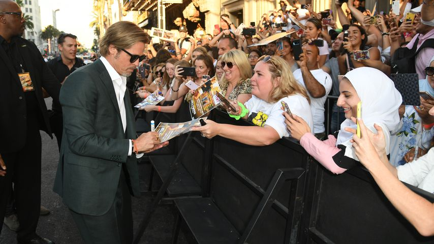 """Brad Pitt bei der """"Once Upon a Time in Hollywood""""-Premiere in Los Angeles"""