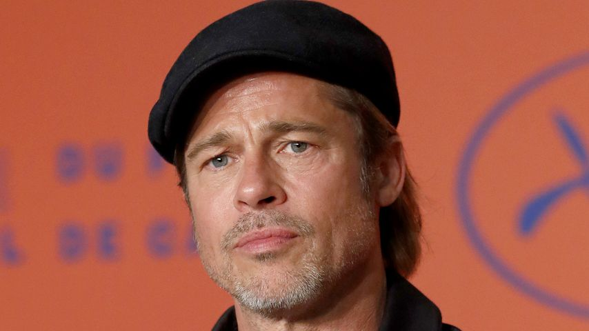 """Brad Pitt bei einer Pressekonferenz zu """"Once Upon A Time In Hollywood"""""""