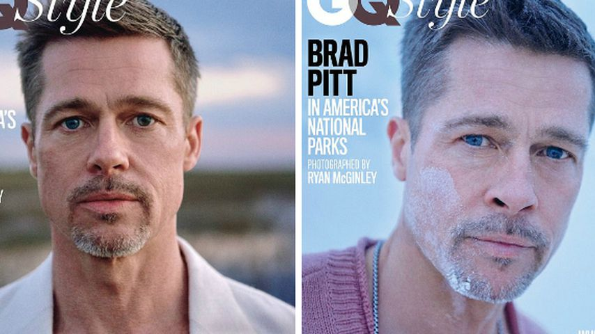 Brad Pitts drei GQ-Cover