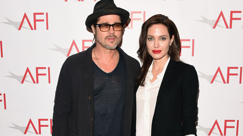 Brad Pitt und Angelina Jolie im Januar 2015