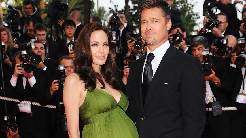 """""""Ich schlage meine Kids"""": So makaber scherzte Brad Pitt 2011"""