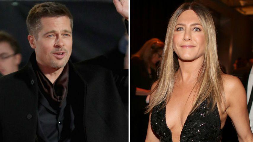 Er schreibt ihr SMS! Will Brad Pitt Jennifer Aniston zurück?