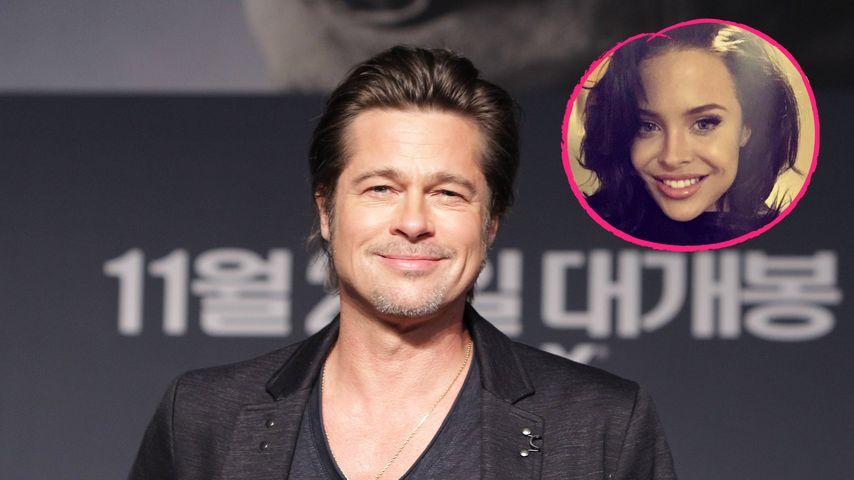 Flirt mit Angelina-Double: Ist sie Brad Pitts neue Flamme?