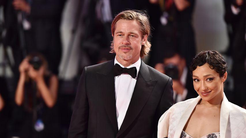 Brad Pitt und Angeblich-Flirt Ruth Negga auf Filmpremiere