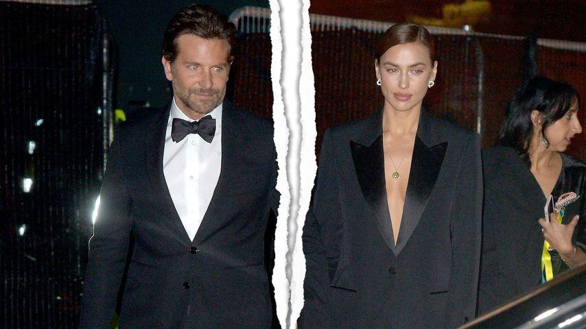 Trennung! Bei Bradley Cooper & Irina Shayk ist Schluss