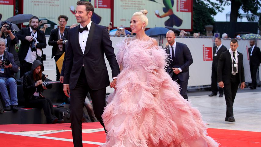"Bradley Cooper und Lady Gaga, Stars des Film ""A Star Is Born"""