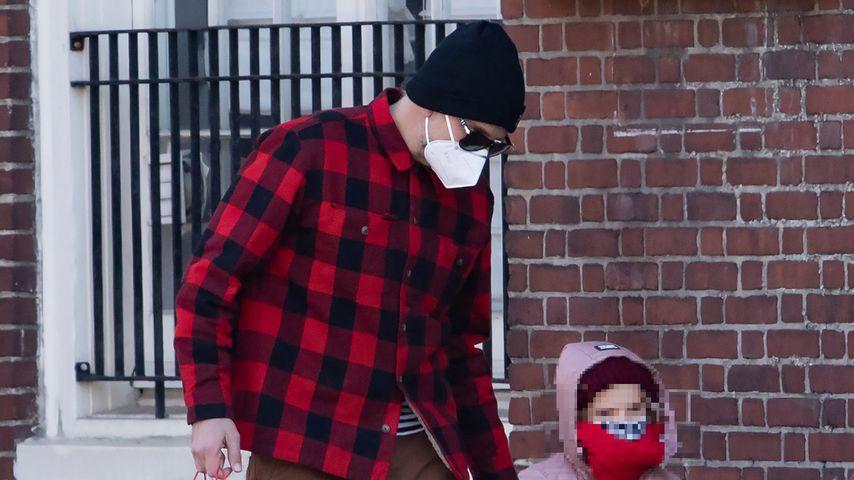 Bradley Cooper und seine Tochter Lea, Februar 2021