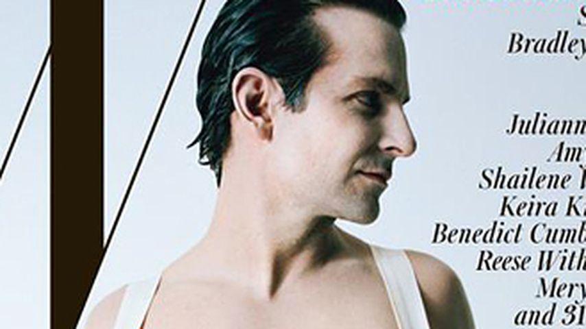 Oben ohne! Bradley Cooper zeigt sich als Dandy