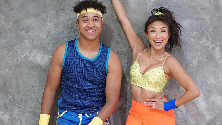Brandon Armstrong und Jeannie Mai