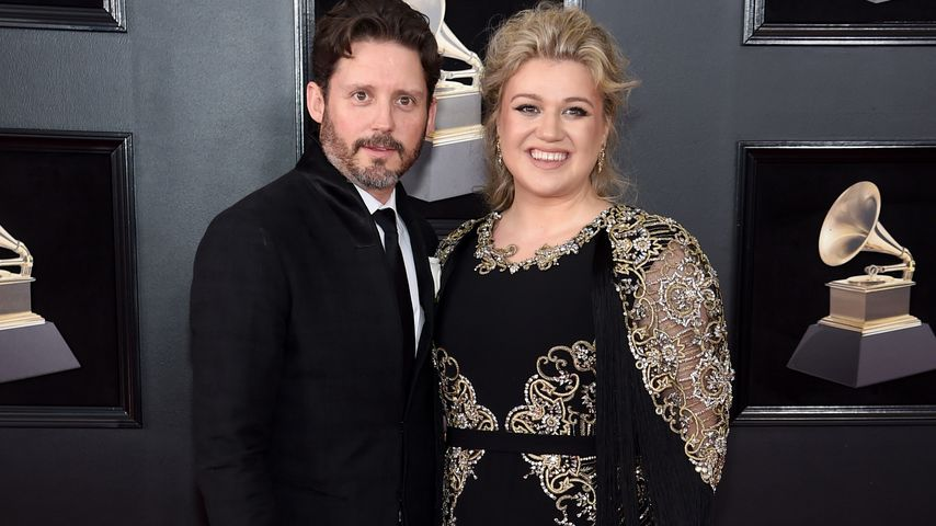 Brandon Blackstock und Kelly Clarkson 2018 in New York