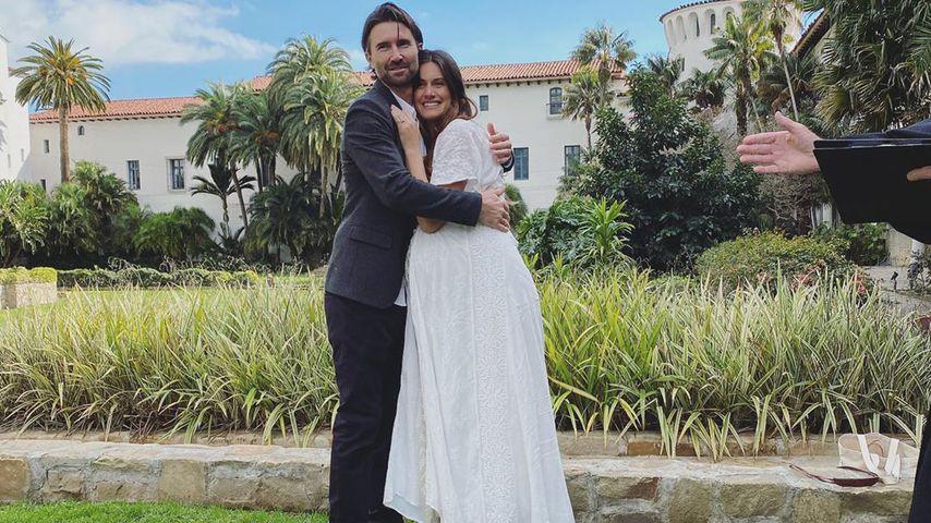 Brandon Jenner und Cayley Stoker bei ihrer Hochzeit