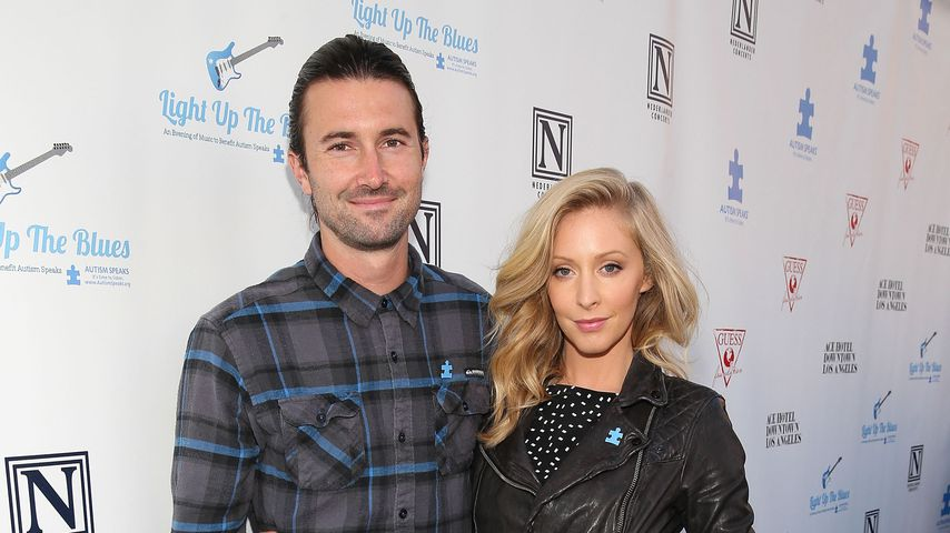 Brandon Jenner und Leah Jenner im April 2014 in L.A.