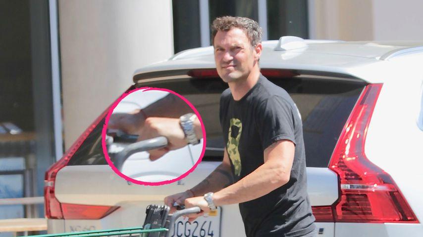 Trennung? Megan Fox' Mann Brian ohne Ehering abgelichtet!