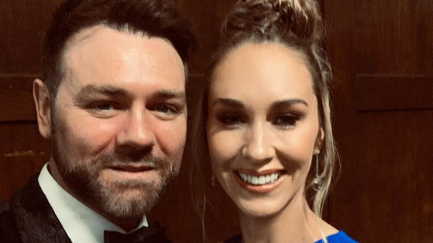 Brian McFadden und seine Verlobte Danielle im März 2019