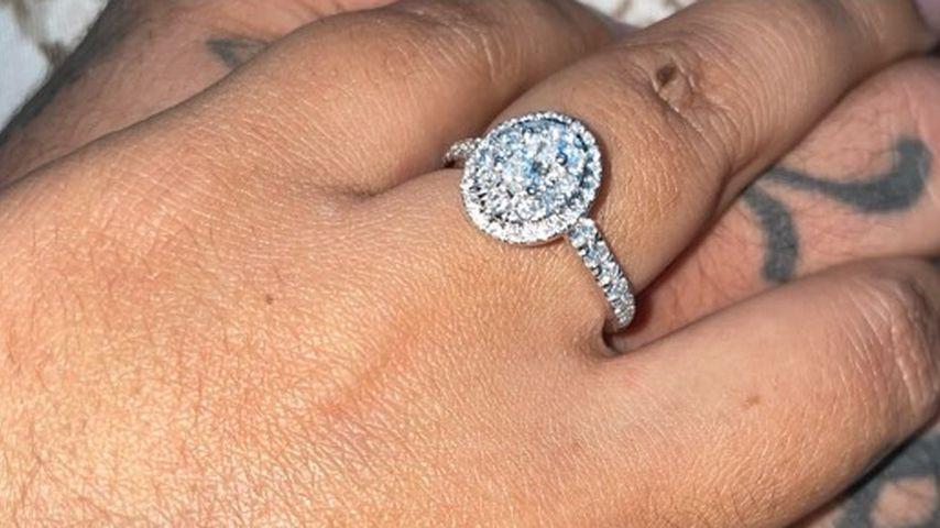 Briana DeJesus' Verlobungsring