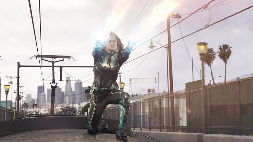 "Brie Larson als ""Captain Marvel"""
