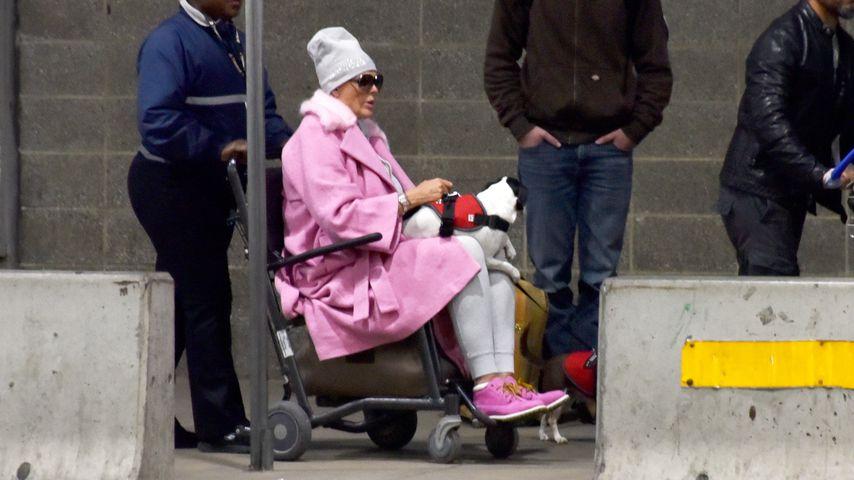Im Rollstuhl & inkognito: Was ist mit Brigitte Nielsen los?