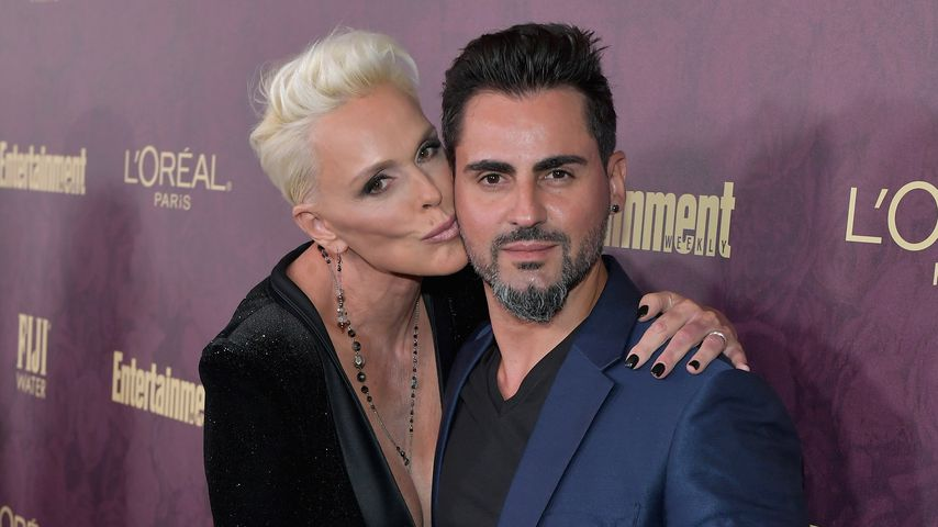 Brigitte Nielsen und Mattia Dessi bei der Pre-Emmy-Party in Los Angeles