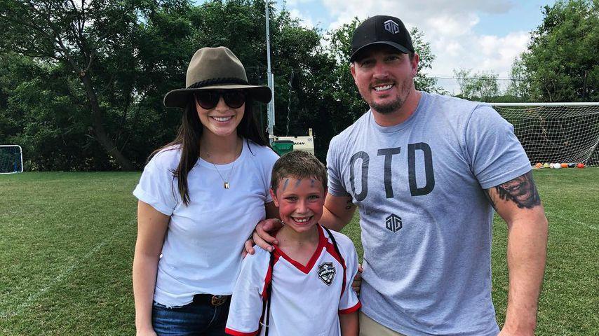 Bristol Palin und Dakota Meyer mit ihrem Sohn Tripp