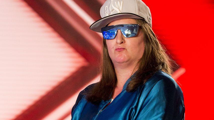 Britische X-Factor-Kandidatin und Rapperin Honey G