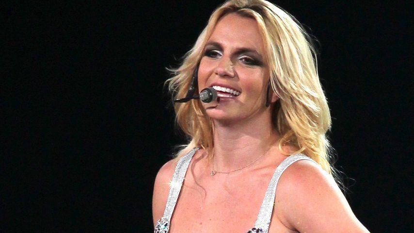 Britney Spears: Nippelblitzer! Hier stehen ihre Brste im