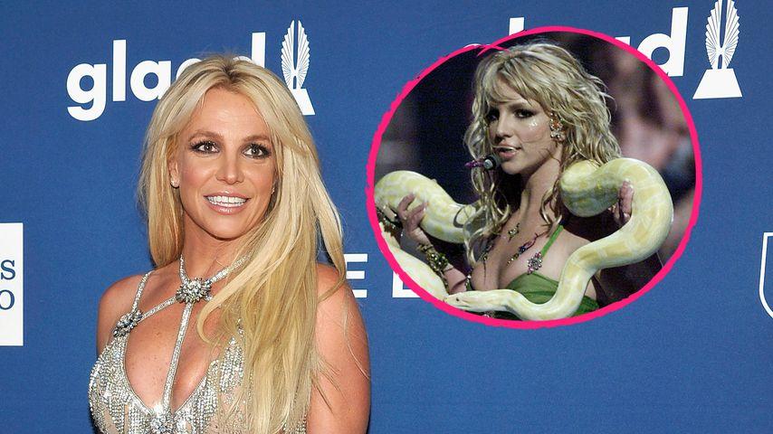 Wie bei MTV-Awards: Britney Spears tanzt mit Schlange