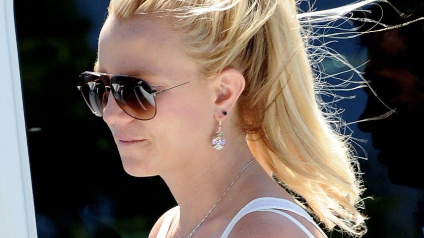 Britney Spears rettet ihre Söhne vor dem Feuer