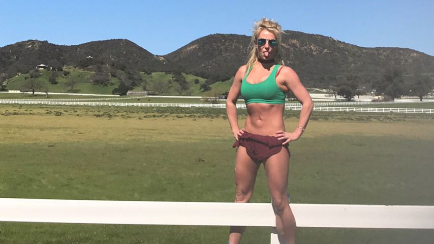 Britney Spears in Bestform: Was für ein Muskel-Body!