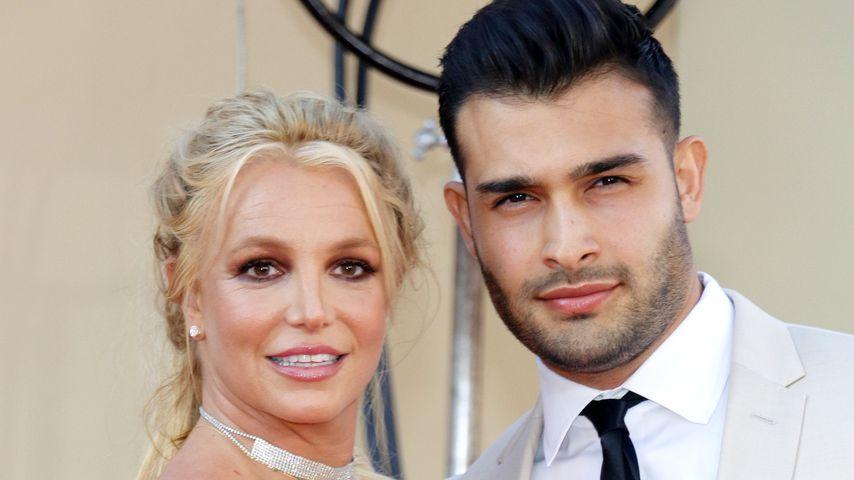 Britney Spears und Sam Asghari im Juli 2019