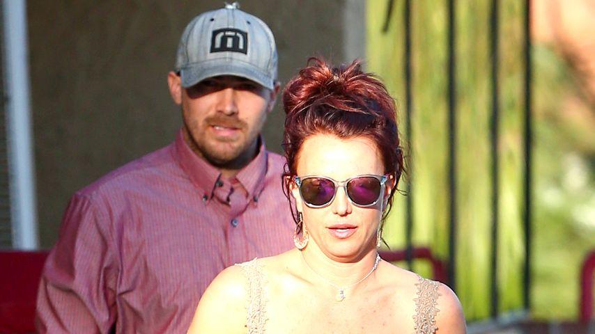 Wandlungsfähig: Britney Spears ist jetzt Rotschopf