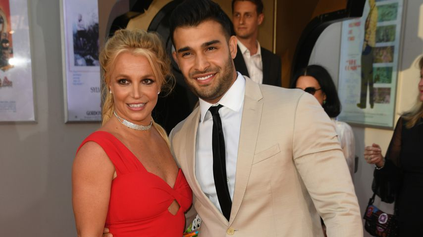 "Britney Spears und Sam Asghari bei der ""Once Upon a Time in Hollywood""-Premiere"